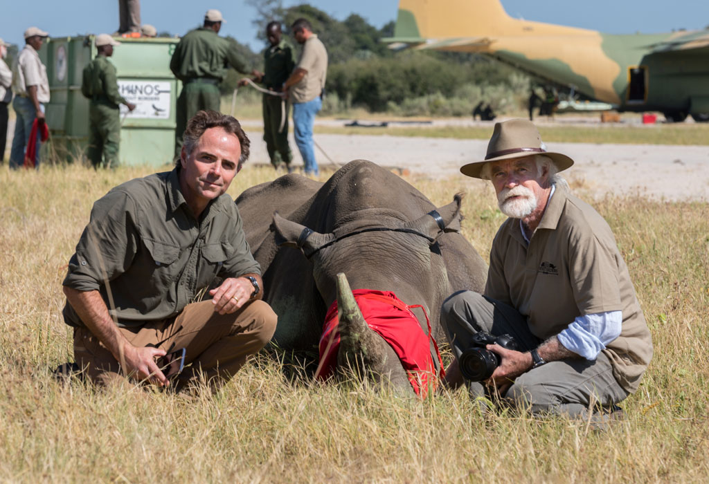 Joss and Derek at rhino release number 3